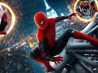 Spider-Man No Way Home Portals wallpaper