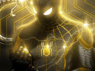 Spider-Man: No Way Home Power Art wallpaper