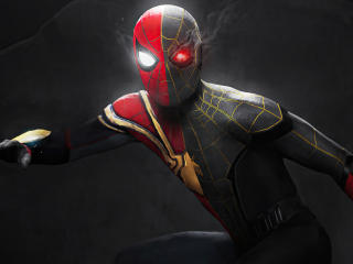 Spider-Man No Way Home Red and Black wallpaper