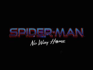 Spider-Man No Way Home Text Poster wallpaper