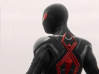 Spider Man Red And Black Suit wallpaper
