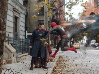 Spider Man vs Dr Strange No Way Home wallpaper