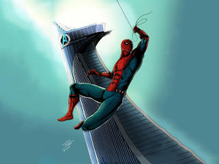 Spiderman Artwork wallpaper