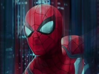 Spiderman Digital Art wallpaper