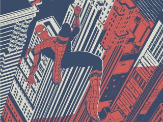 Spiderman Homecoming Artwork wallpaper