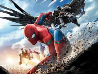 Spiderman Homecoming Climax wallpaper