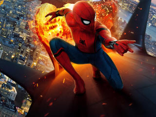 Spiderman Homecoming New Movie Poster Chinese wallpaper