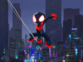 SpiderMan Into The Spider Verse Artwork wallpaper