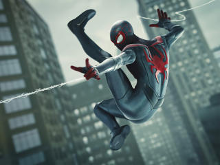 Spiderman Miles Morales Web Shooter wallpaper