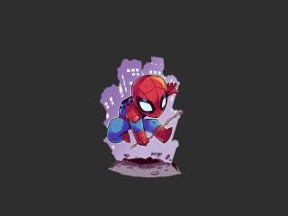 Spiderman Minimalism wallpaper