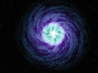 Spiral Galaxy Abstract 4k wallpaper