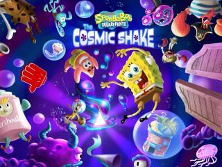 SpongeBob SquarePants The Cosmic Shake HD wallpaper