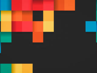 Square Colorful Pattern wallpaper