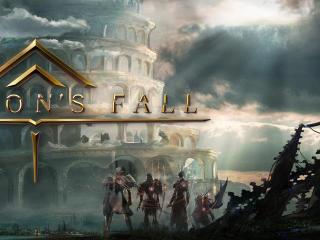 Square Enix Babylon's Fall wallpaper