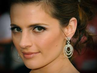 Stana Katic Closeup Wallpapers wallpaper