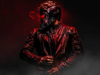 Star Lord Avengers Infinity War Art wallpaper