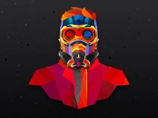 Star Lord Colorful wallpaper