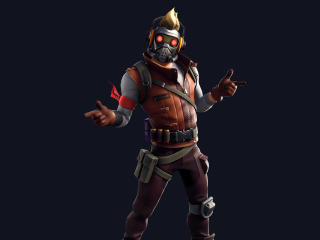 Star Lord Outfit Skin Fortnite Avengers wallpaper