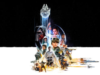 Star Wars Conclusion End wallpaper