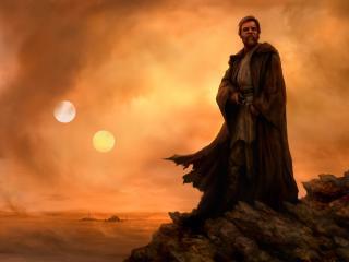 Star Wars Obi Wan Artwork wallpaper