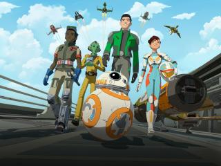 Star Wars Resistance 4K wallpaper