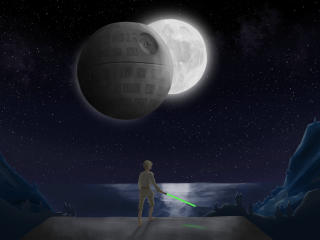 Star Wars Skywalker Art wallpaper