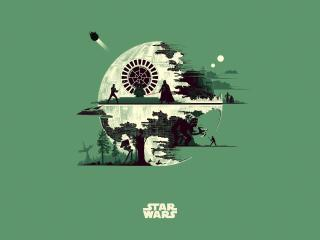 Star Wars Skywalker Saga Minimal wallpaper