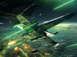 Star Wars Squadrons Space War wallpaper