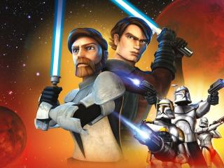 Star Wars The Clone Wars Season 7 wallpaper