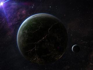 stars, planets, universe wallpaper