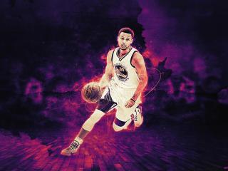 Stephen Curry NBA Art wallpaper