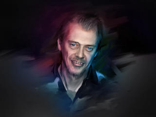 steve buscemi, actor, art wallpaper
