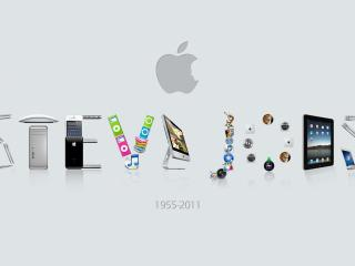 steve jobs, apple, mac wallpaper