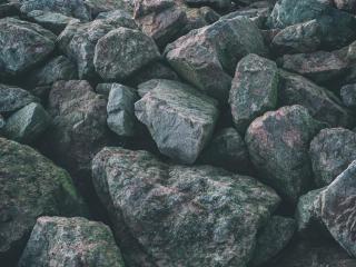 stones, surface, gray wallpaper