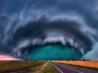 Storm Day HD wallpaper