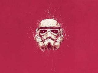 Stormtrooper Minimal wallpaper