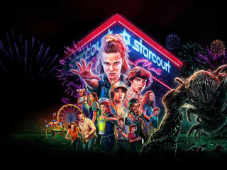 HD Wallpaper | Background Image Stranger Things Season 3 Poster