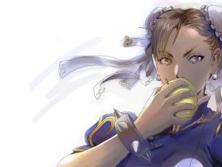 street fighter, chun-li, girl wallpaper