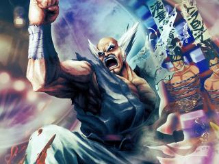 street fighter x tekken, angry, fighter wallpaper