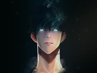 Sung Jin-Woo Art Solo Leveling wallpaper