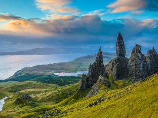 Sunrise On the Isle of Skye wallpaper