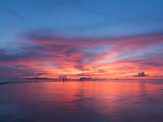 Sunset 4k Horizon Photography 8K wallpaper