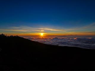 sunset, clouds, sky wallpaper