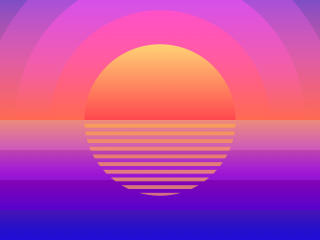 Sunset Summer Time wallpaper