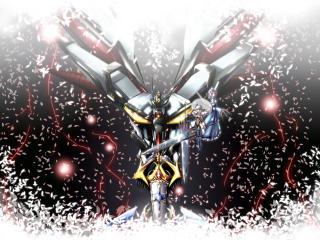 super robot wars, touhou, konpaku youmu wallpaper