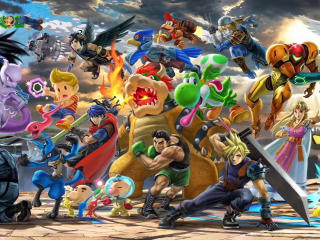 Super Smash Bros Ultimate wallpaper