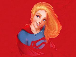 Supergirl 4K Digital Art wallpaper