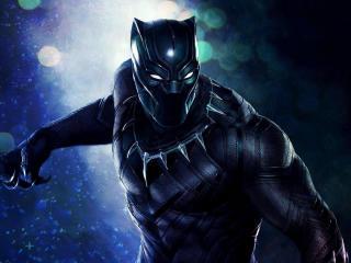 Superhero Black Panther wallpaper