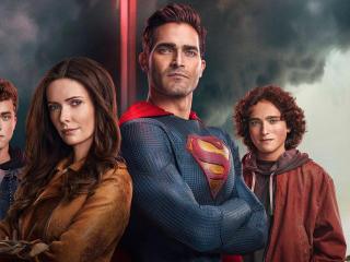 Superman And Lois Cast Poster wallpaper