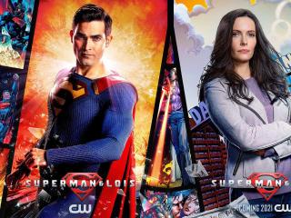Superman Arrowverse wallpaper